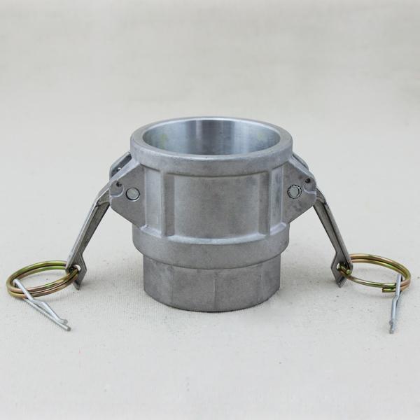 Aluminum Flexible Hose Coupler Camlock Type Quick Connect Coupling Type B Part