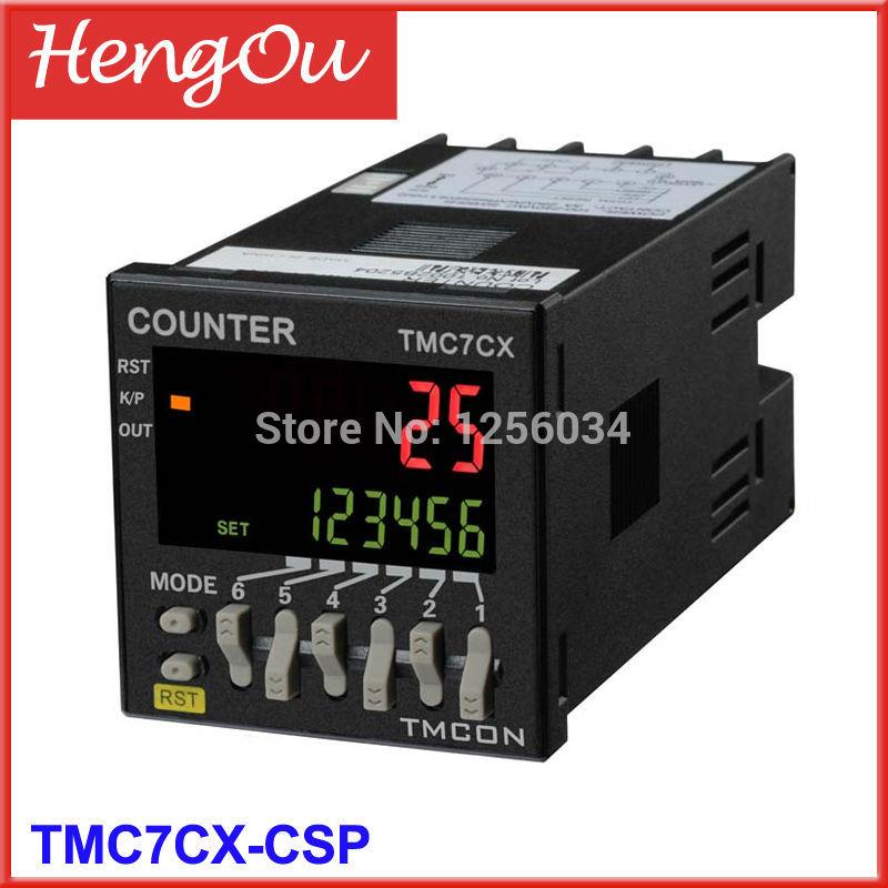 1 piece TMC7CX intelligent digital counter 6 digits TMC7CXCSP Preset counter Electronic counter