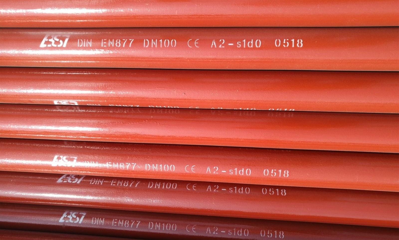 SML EN877 EPOXY CAST IRON PIPE FITTING