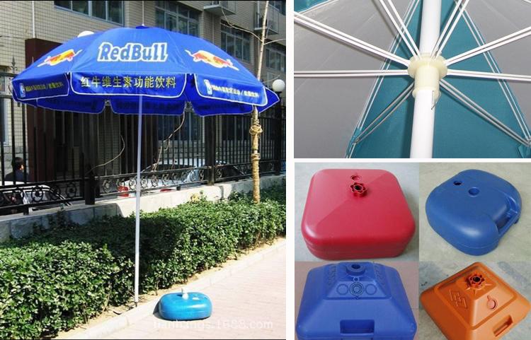 Outdoor Advertising Custom Garden Folding Sun Beach Shelter Umbrella