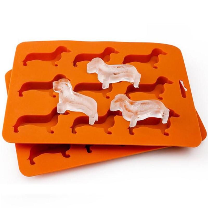 2019 hot sale ice tube silicone dog mold factory customize ice trays mold