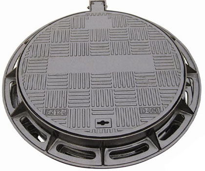 cast iron manhole ring and gully grating