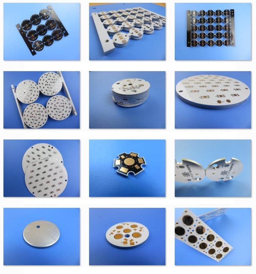 Heavy Copper 4OZ Aluminum Based PCB Metal Core Printed Circuit Board