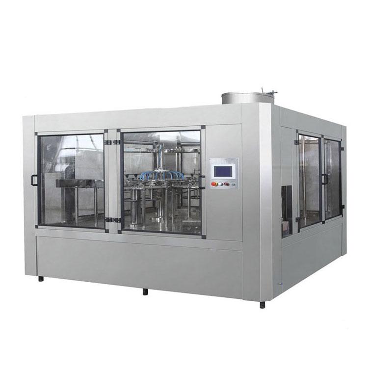 Liquid Water Bottle Filling Machine Automatic Mango Juice PET Bottle Filling Machine