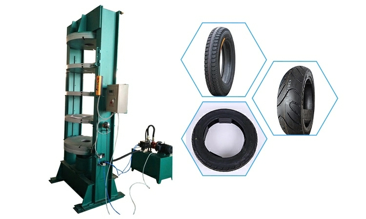 Rubber Tire Curing Press Motorcycle Tire Vulcanization Machine Valcanizer
