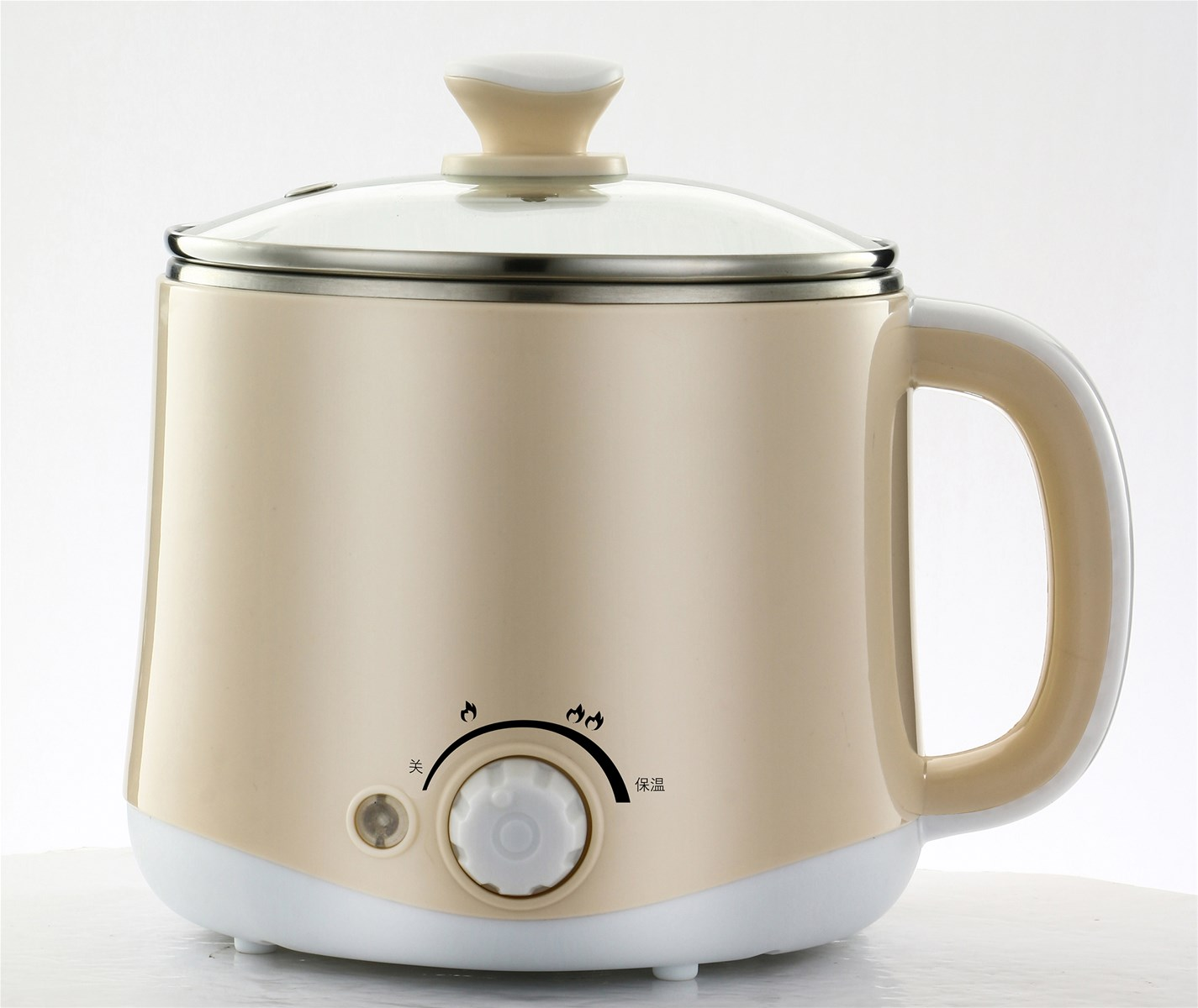 WD7616A Double convex jump temperature control Noodle Pot with full circle heating function