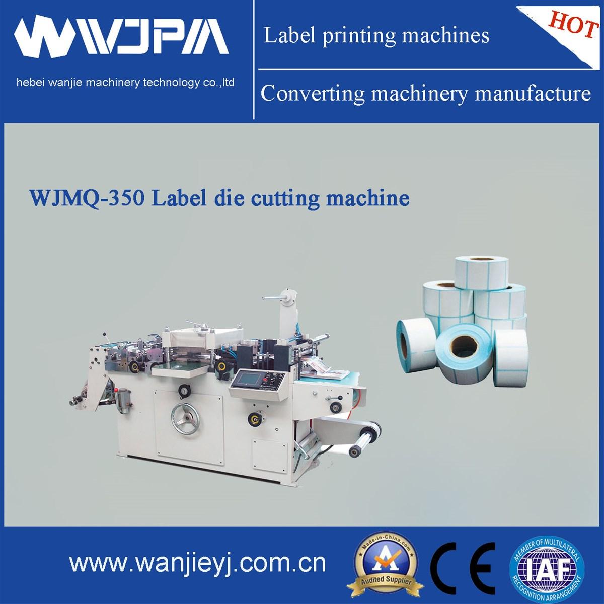 Automatic Label DieCutting Machine WJMQ350