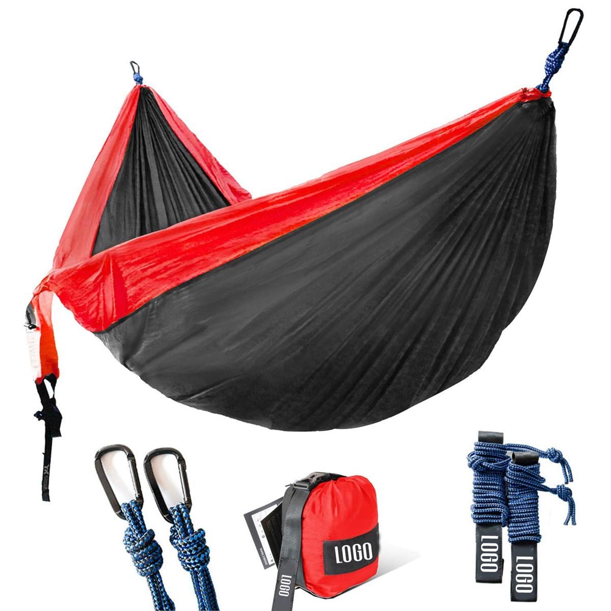 Factory wholesale Portable Lightweight nylon Camping Hammock