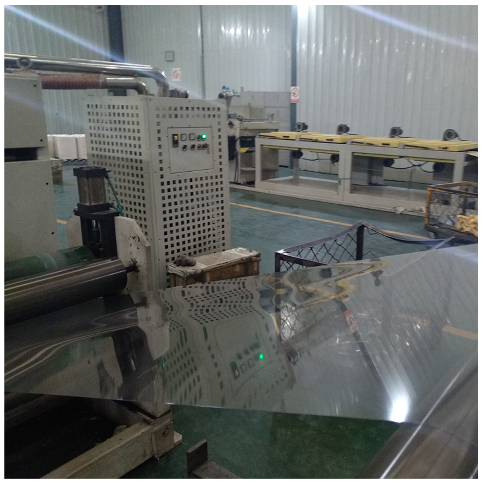 Transparent rigid PVC films for thermoform and vacuum forming