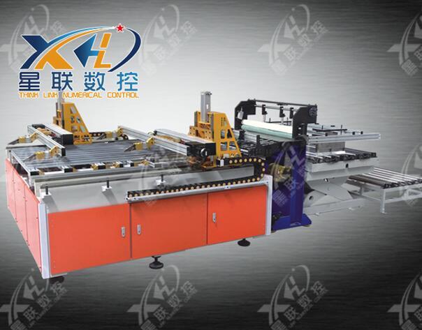 double clamps cnc sheet feeding machine