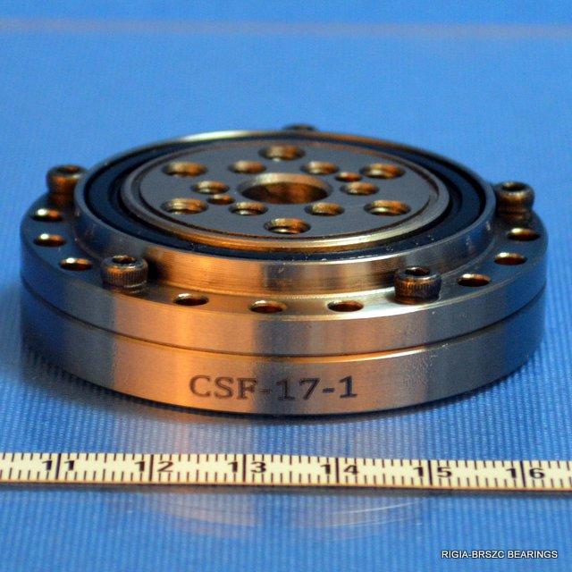 CSF17 Harmonic speed reducer gear units bearing crossed roller bearings