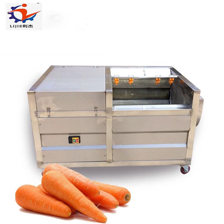 Good Performance Sweet Potato Ginger Washing and Peeling Machineand Peeling Machine