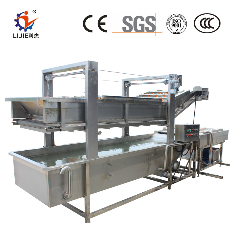 bubble vegetable and fruit washing equipment industry