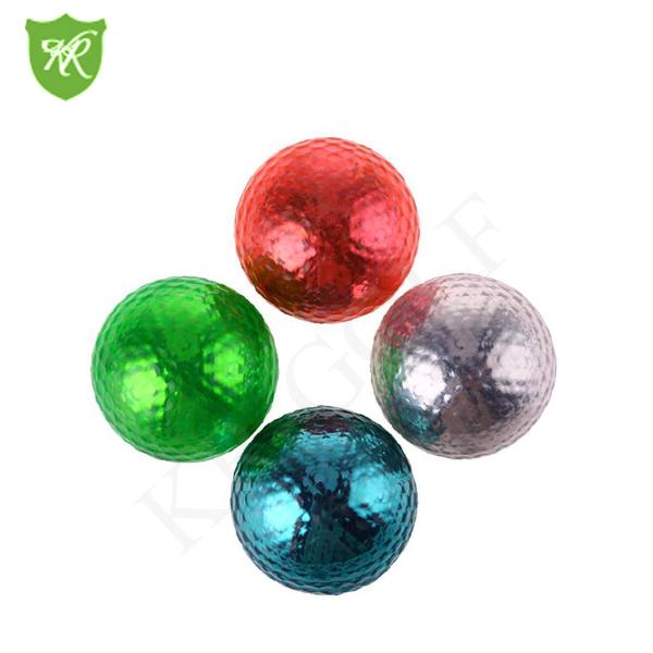Hot sell Metallic Golf ballMini golf bal
