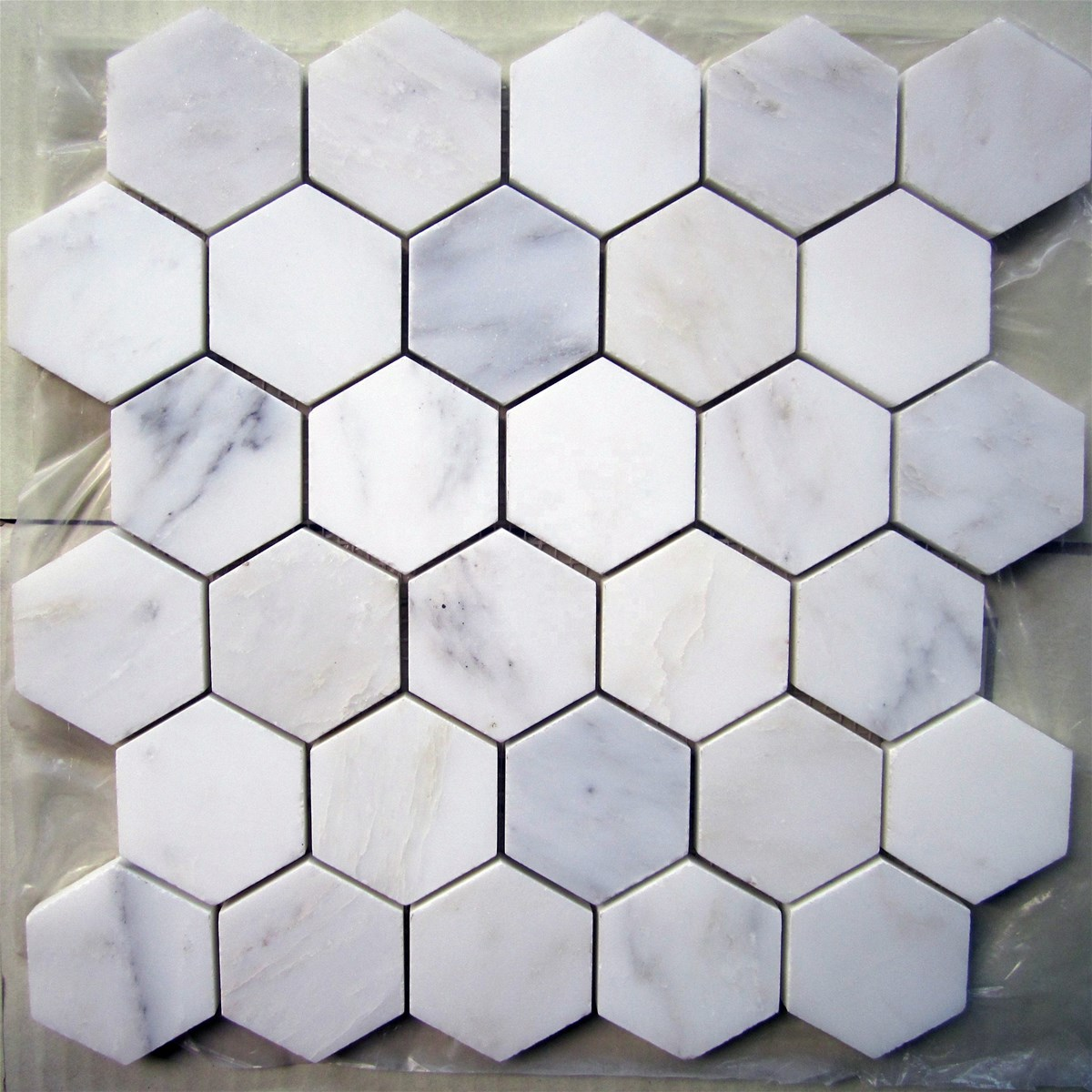 White Natural Marble Mosaic Tile Novel design