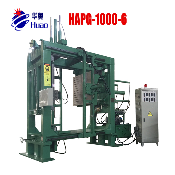 6sides corpuller resin APG casting Clamping Machine