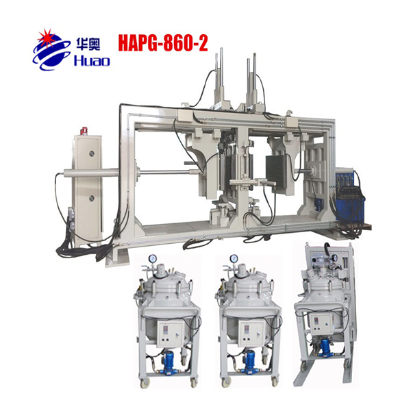 Doublestation APG Clamping Machine