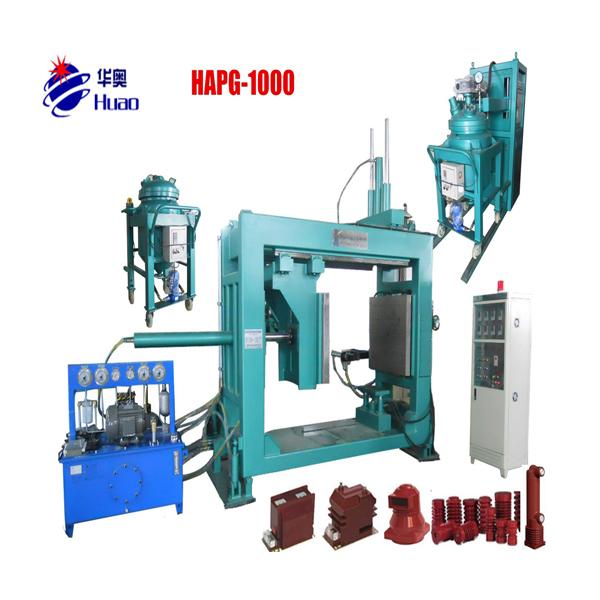 apg vacuum resin casting injection machine