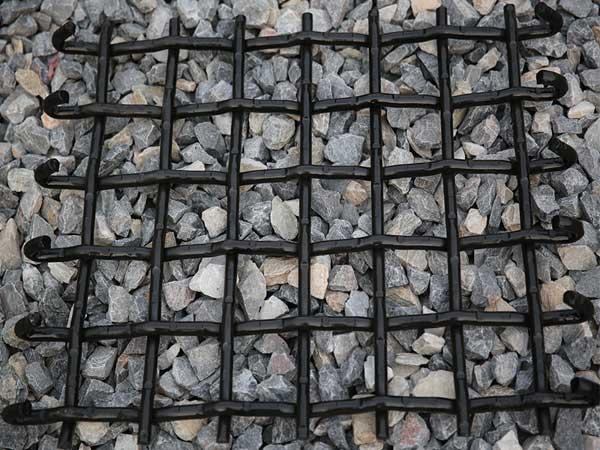 Precrimped Lock Crimp Screen woven wire mesh