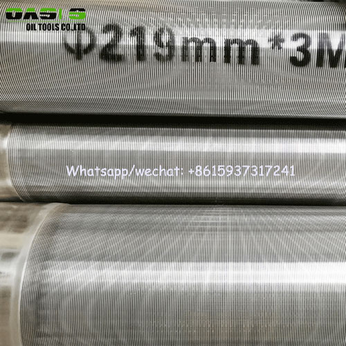 drilling well screenwire wrap stainless steel water well screensrod base wedge wire screens