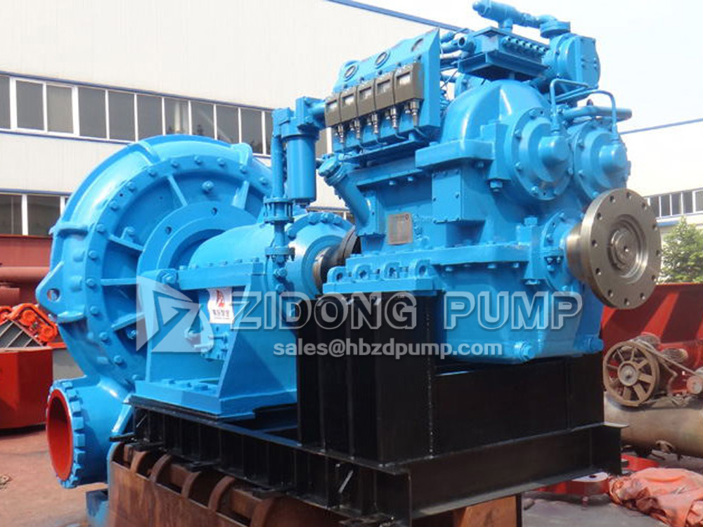 heavy duty marine sand pump dredge pump