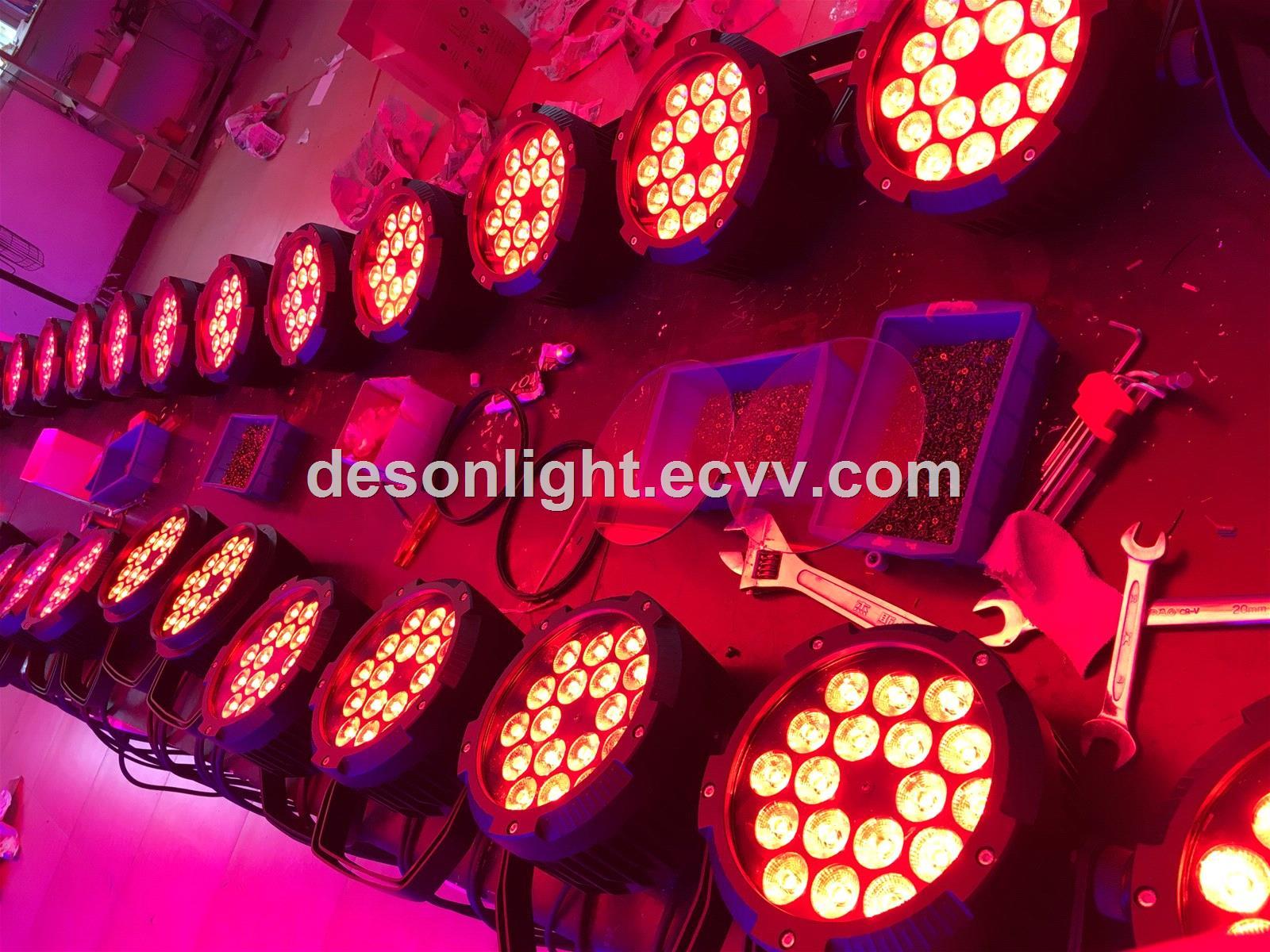 18x3in1 Triple LED waterproof par stage light LP228