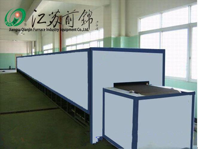 Glass annealing furnace Decoration firing mesh belt furnace
