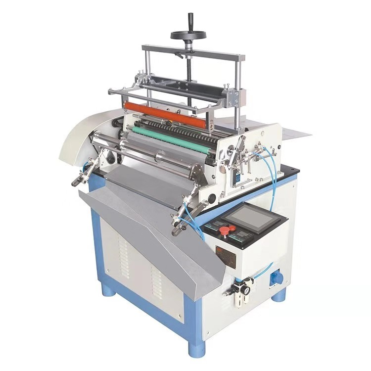 Automatic paper tube can labeling machine