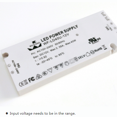 40w supper thick CEUL Drivertransformer for LED light