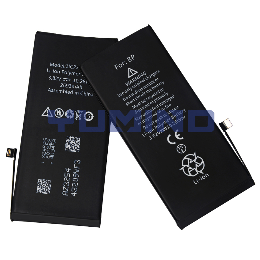 Brand New Lithiumion Battery For iPhone 8 Plus Mobile Phone Batteries Spare Parts