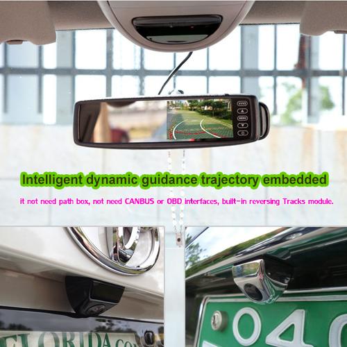Intelligent Trajectory Car Rear view Backup Camera from Topccd TOP421MTJ
