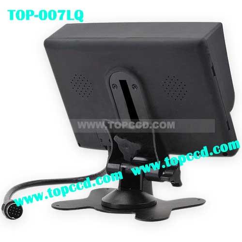 7inch Heavy Duty Vehicle Digital LCD TFT monitor Builtin Quad from Topccd TOP007LQ