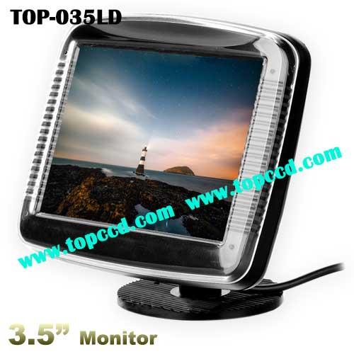 Universal 35 Inch Car rear view reversing backup TFT LCD Screen Monitor TOP035LD