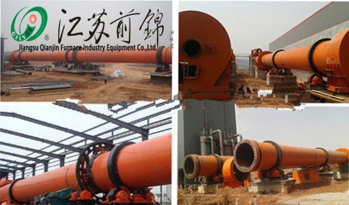Largescale rotary kiln from the technologies of three countries