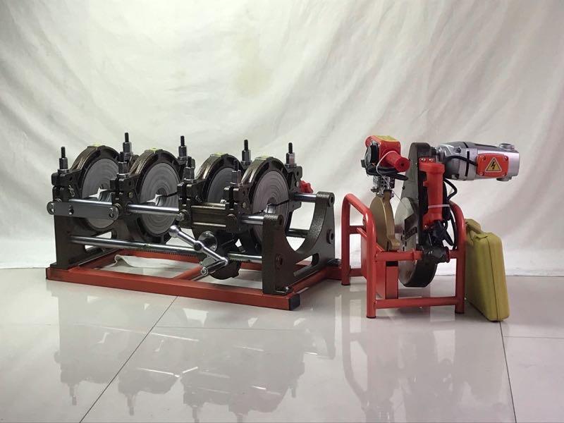 manual operation HDPE pipe welding machine