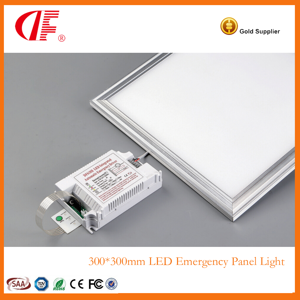 600600mm 36W Square Emergency Panel Light Emergency Output 18W 3hours