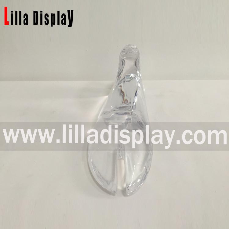 LilladisplayAF1 Roger Viver Use Clear Crystal foot flat shape shoes stand with open toe AF1 size 235cm use for disp