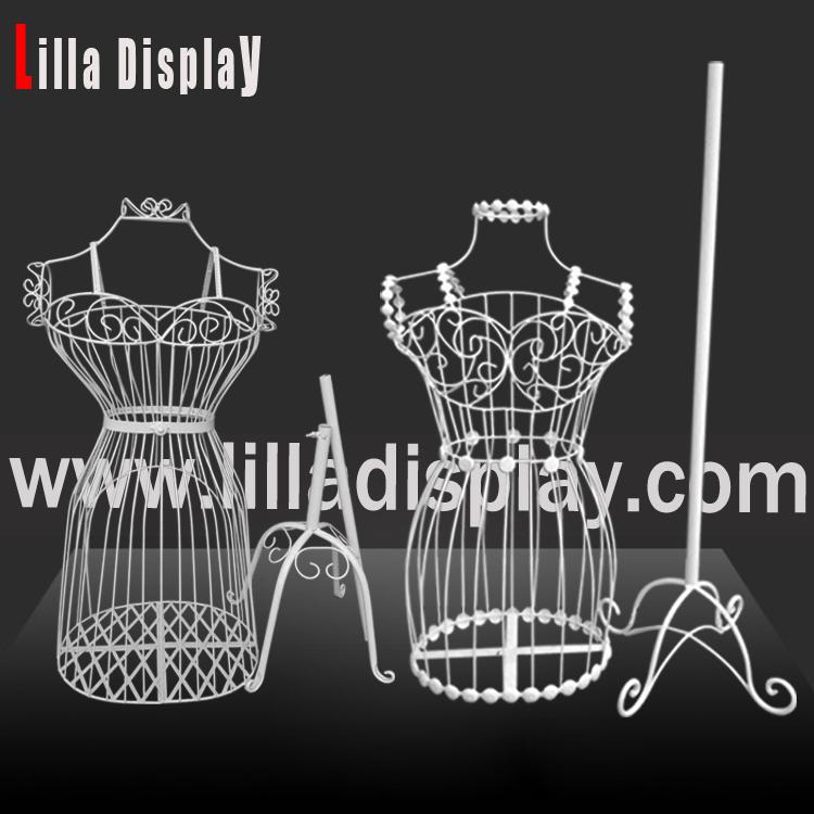 Lilladisplay Female Wire MannequinDummy Dress Form For Fashion Shop w1