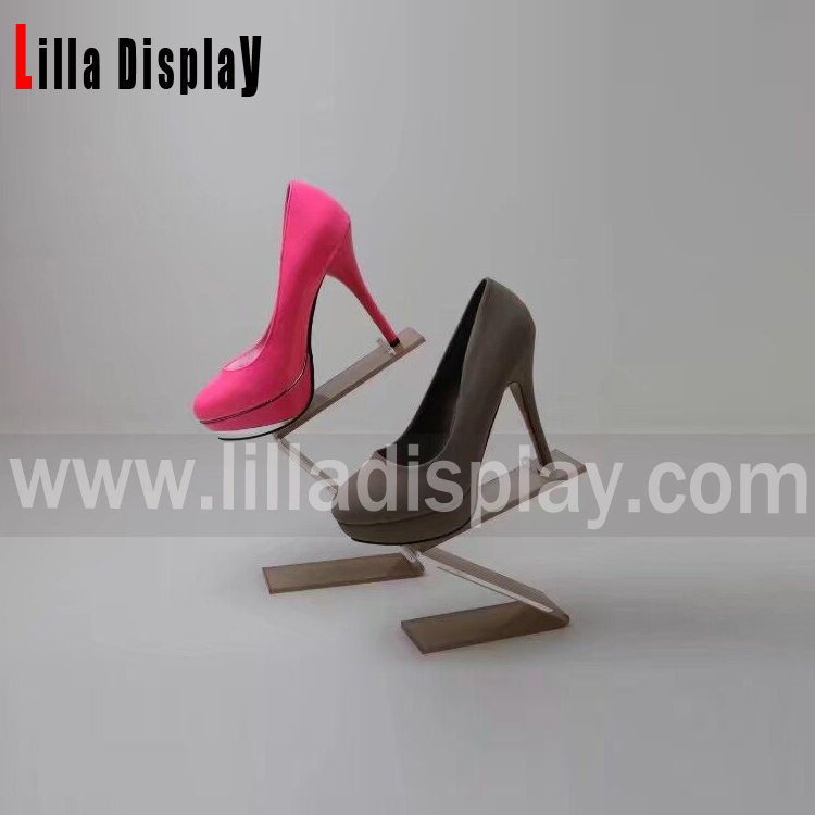 Lilladisplay Retail shoes store fixtures S style shoes display stand SDR08S