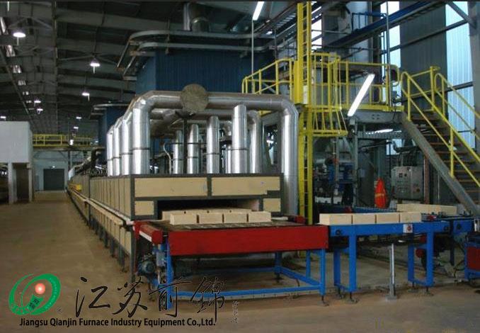 Ternary material roller kiln Powder raw material roller kiln