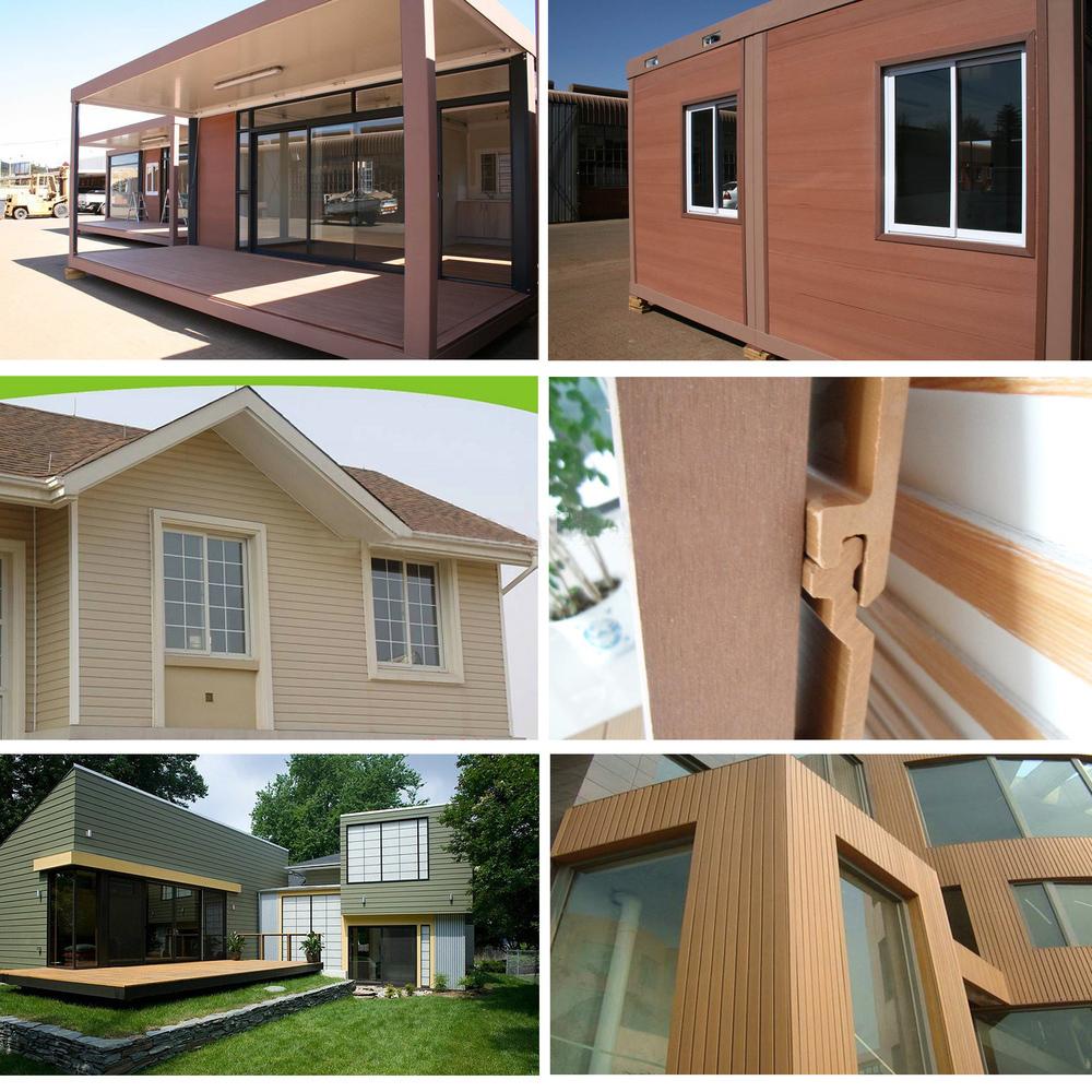 Moisture proof anti rot villa WPC outdoor wall panel