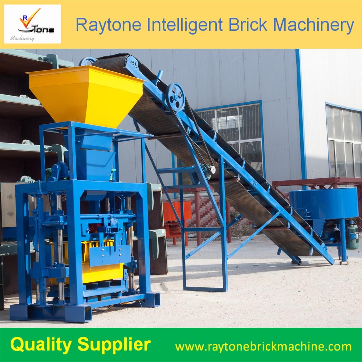 QT401 Small Type Hollow Brick Making Machine
