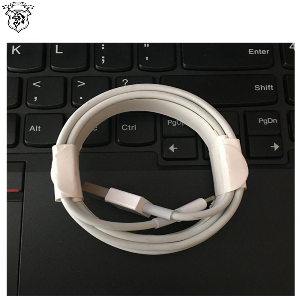 Wholesale Mobile Phone Cable Use original 8 pins USB Charger Cable Data Transmission for iPhone with original retail box