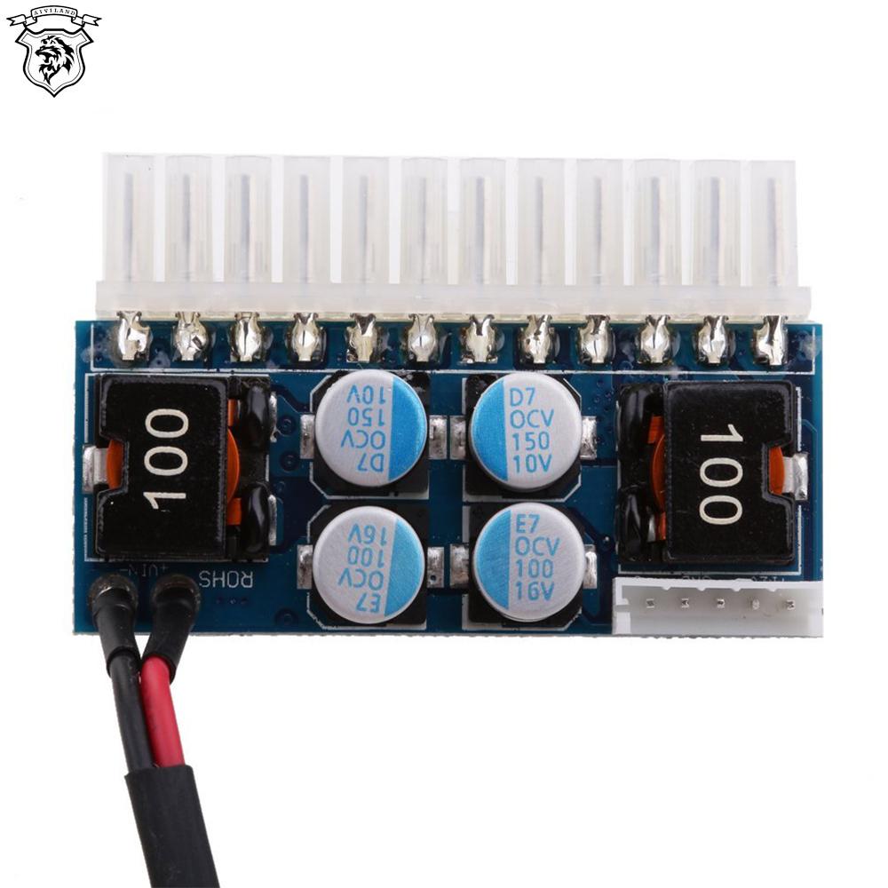 Wholesale DCATX160W 24Pin 12V Pico Switch PSU Car Auto Mini ITX ATX Power Supply Module