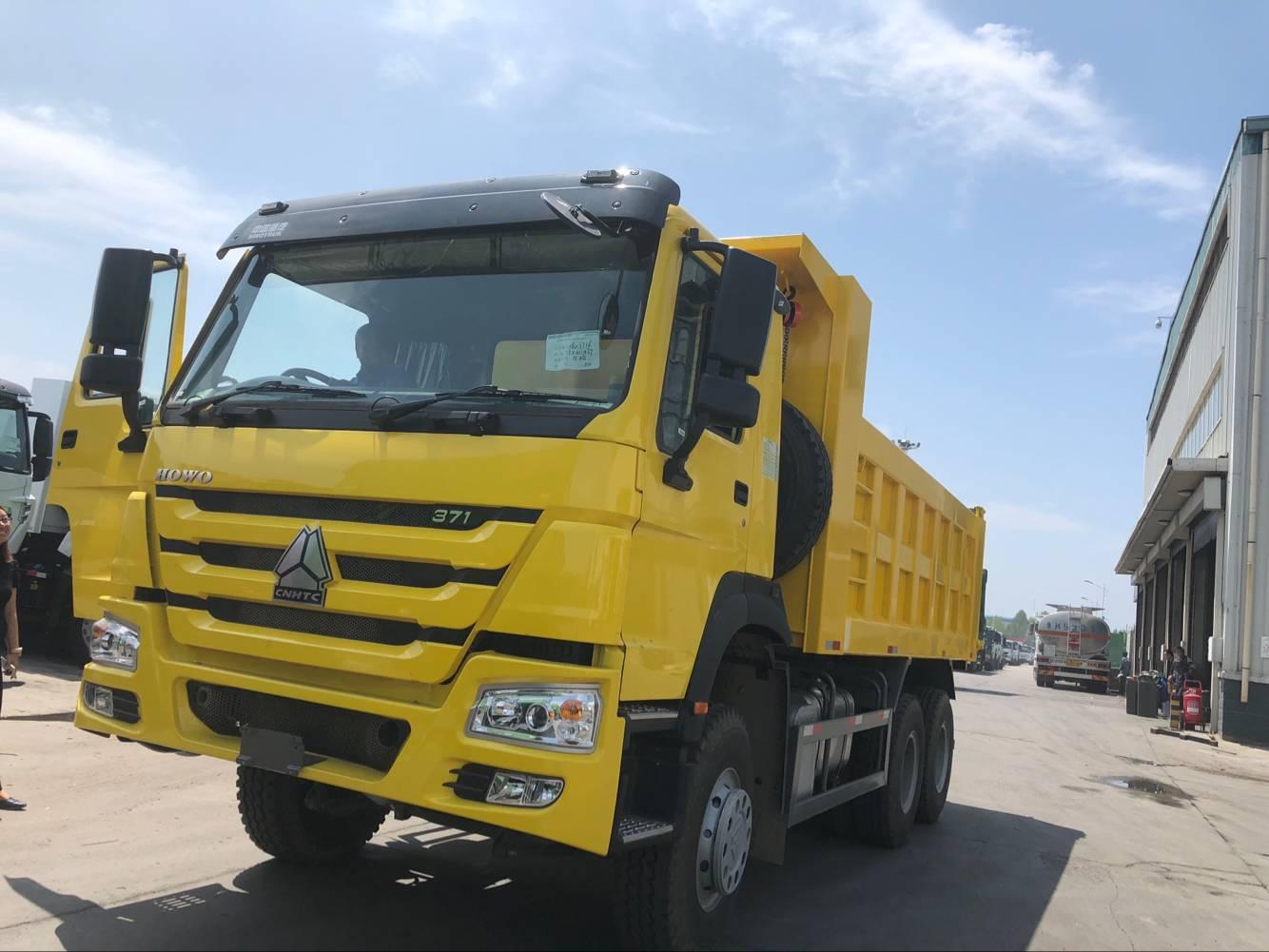 SINO HOWO SINOTRUK HOWO 371 dump truck tipper truck price