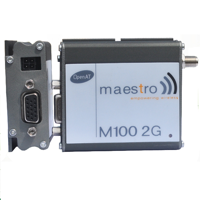Rs232 interface m2m maestro m100 gsm gprs 2g modem