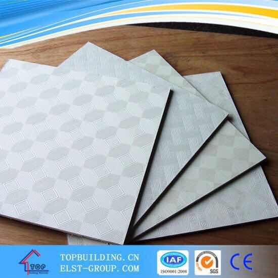 PVC Laminated ceiling TilePVC Ceiling TileGypsum Ceiling BoardGypsum CeilingStandard Gypsum BoardGyps