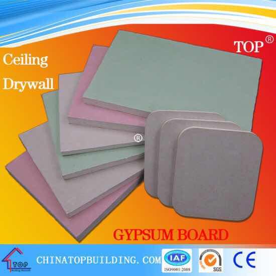 Standard Gypsum BoardFireproof Gypsum BoardWaterproo