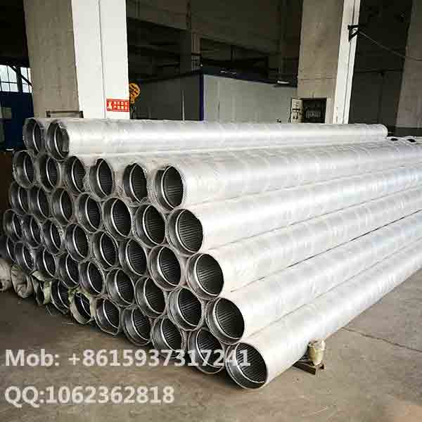 Stainless Steel Continuous Slot Wire Wrapped Johnson Water Well Screens