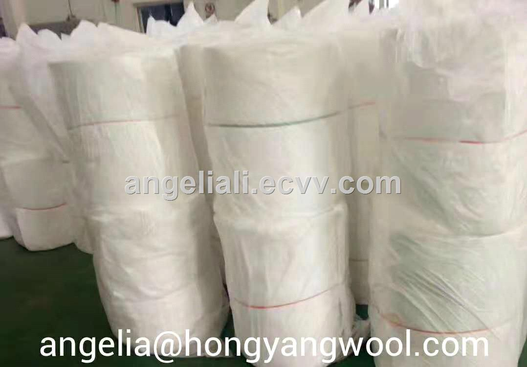 HongYang Wool HP Ceramic Fiber Insulation Double Needled Blanket 300X24X1 Safety Insulaiton Material Grade 1260